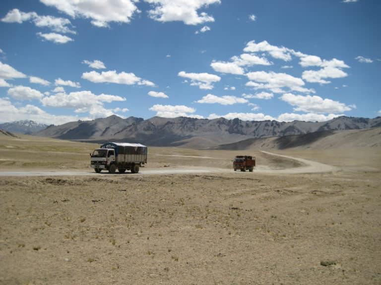 Indien, Ladakh, Hochebene, Leh-Manali-Road