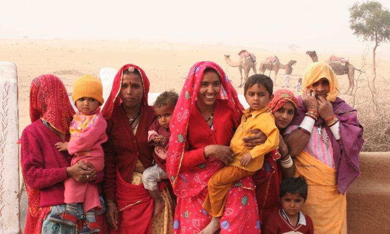 Indien, Rajasthan, Kamel-Trekking, Wüste Thar, Menschen
