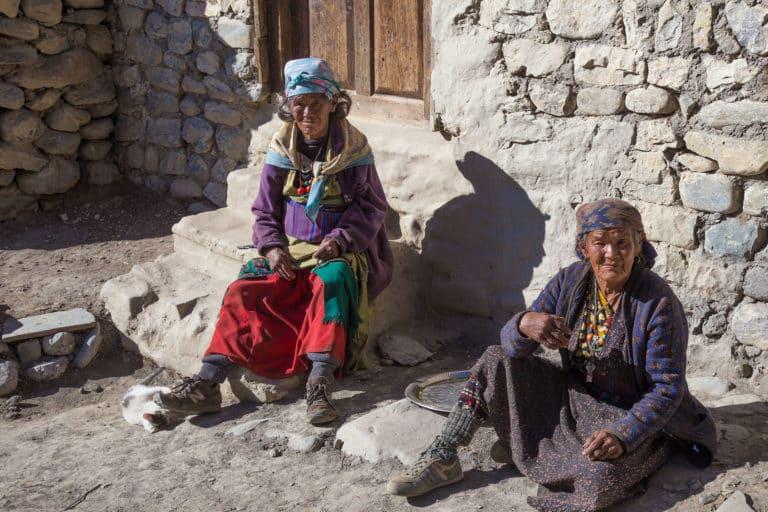 Frauen in Nepal, Nar Phu Valley
