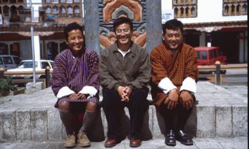 Unser Team in Bhutan