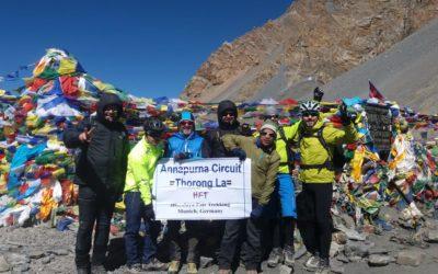 Nepal: Mit dem Mountainbike rund um die Annapurna (T903): geschafft! Angekommen am Thorong La
