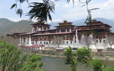 Bhutan: Klosteranlage in Punakha