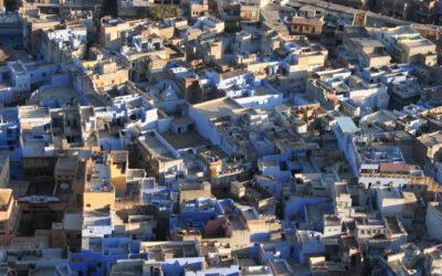 Rajasthan, Jodhpur, blaue Stadt