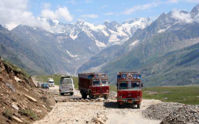 Auf dem Weg zum Rothong La (Ladakh)