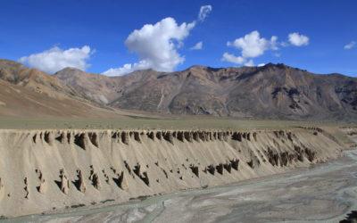 Bizarre Felsformationen im Spiti Valley