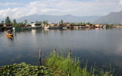 Dhal-See in Srinagar (Kaschmir)