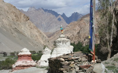Chörten in Ladakh