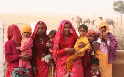 Indien: Rajasthan, Kamel-Trekking, Wüste Thar, Menschen