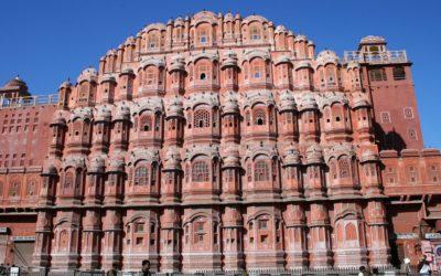 Jaipur, Palast der Winde in der Rosa Stadt