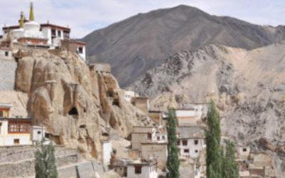 Blick aufs Lamayuru-Kloster in Ladakh