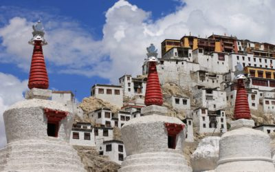 Ladakh, Leh: Kloster Thiksey