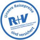 Logo der Reisepreisversicherung gegen Insolvenz eines Veranstalters